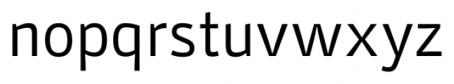 Stat Display Pro Regular Negative Font LOWERCASE