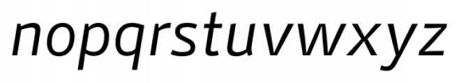 Stat Display Pro Regular Oblique Negative Font LOWERCASE
