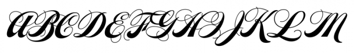 Steak Barbecue Font UPPERCASE