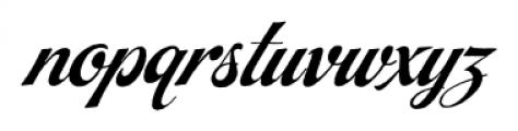 Steak Braised Font LOWERCASE