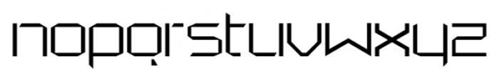 StealWerksClosed Fine Font LOWERCASE