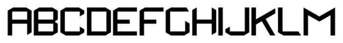 StealWerksClosed Regular Font UPPERCASE