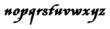 Stefania Antique Bold Font LOWERCASE