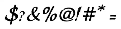 Stefania Antique Regular Font OTHER CHARS