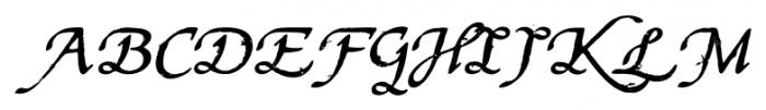 Stefania Antique Regular Font UPPERCASE