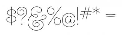 Steinweiss Script Light Font OTHER CHARS