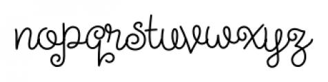 Steinweiss Script Medium Font LOWERCASE