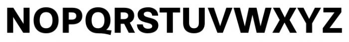 Stevie Sans Bold Font UPPERCASE