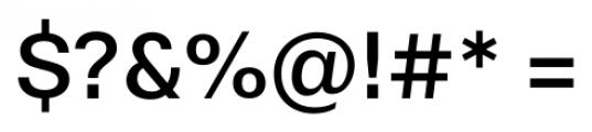 Stevie Sans Regular Font OTHER CHARS
