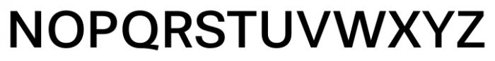 Stevie Sans Regular Font UPPERCASE