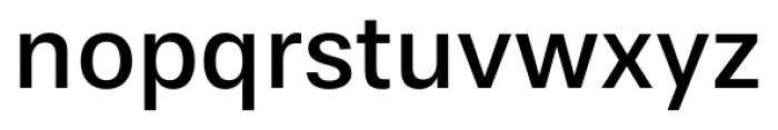 Stevie Sans Regular Font LOWERCASE