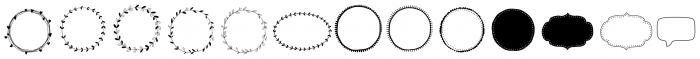 Storyteller Design Elements Regular Font UPPERCASE