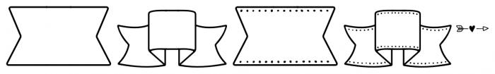 Storyteller Design Elements Regular Font LOWERCASE