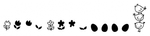 Storyteller Design Elements Spring Font LOWERCASE