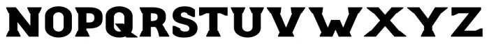 Stout Bold Font UPPERCASE