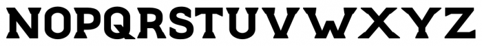 Stout Regular Font UPPERCASE