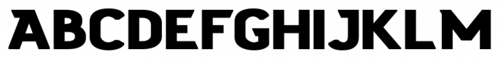 Stout Sans Bold Font UPPERCASE