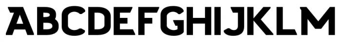 Stout Sans Regular Font UPPERCASE