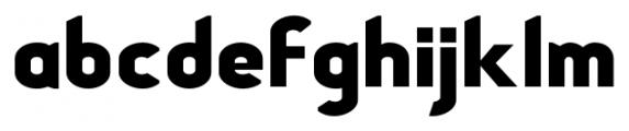 Stout Sans Regular Font LOWERCASE