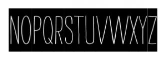 Strangelove Bombs Font UPPERCASE