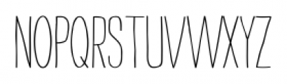 Strangelove Next Narrow Font UPPERCASE