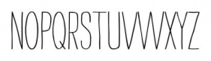 Strangelove Next Narrow Font LOWERCASE