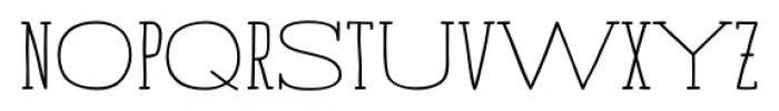 Strangelove NextSlab Mix Bold Font UPPERCASE