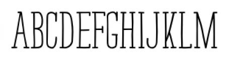 Strangelove NextSlab Narrow Bold Font LOWERCASE