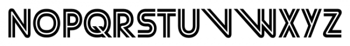 Street Cred 1998 Regular Font UPPERCASE