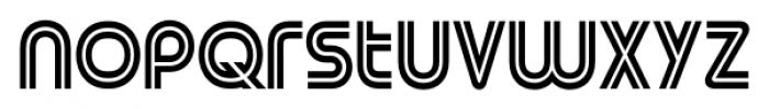 Street Cred 1998 Regular Font LOWERCASE