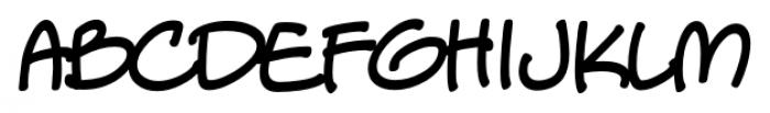 StreetCred Intl BB Regular Font LOWERCASE