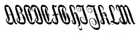 Stridere Black Font UPPERCASE