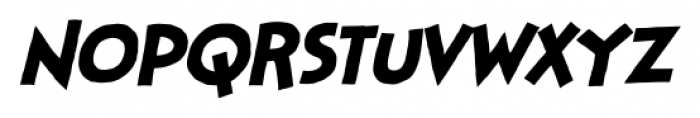 StupidHead BB Italic Font LOWERCASE