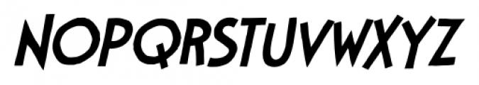 StupidHead BB Light Italic Font UPPERCASE