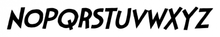 StupidHead BB Light Italic Font LOWERCASE