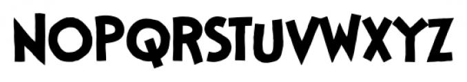 StupidHead BB Regular Font UPPERCASE