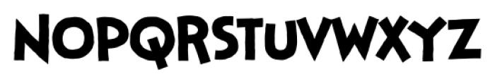 StupidHead BB Regular Font LOWERCASE