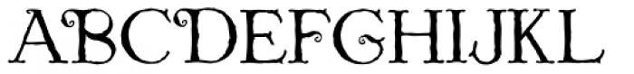 St. Nicholas Font UPPERCASE