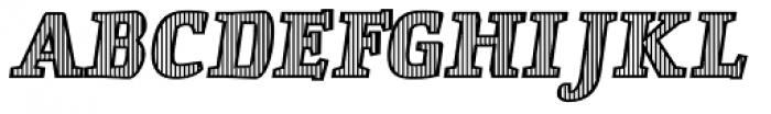 St Patrick fill Bold Font UPPERCASE