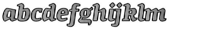St Patrick fill Bold Font LOWERCASE