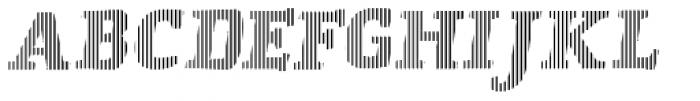 St Patrick infill Bold Font UPPERCASE