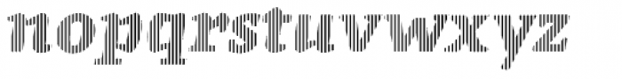 St Patrick infill Bold Font LOWERCASE