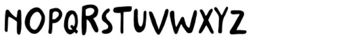 Stabile Regular Font UPPERCASE