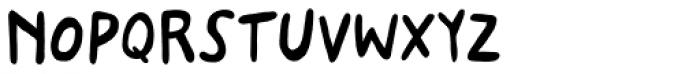 Stabile Regular Font LOWERCASE