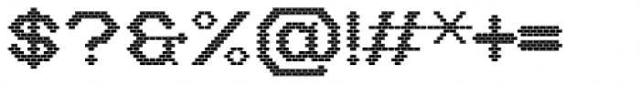 Stack Bricks Font OTHER CHARS