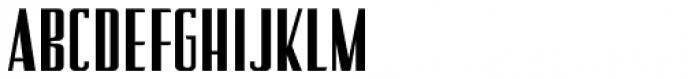 Stage Production JNL Regular Font UPPERCASE