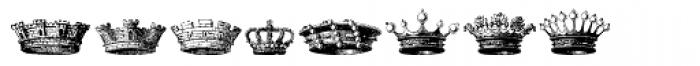 Stahlhelme Und Kronen Font OTHER CHARS