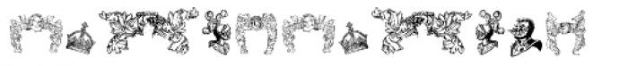 Stahlhelme Und Kronen Font LOWERCASE