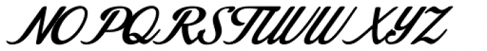 Stainy Font UPPERCASE