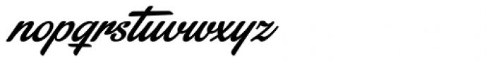 Stainy Font LOWERCASE